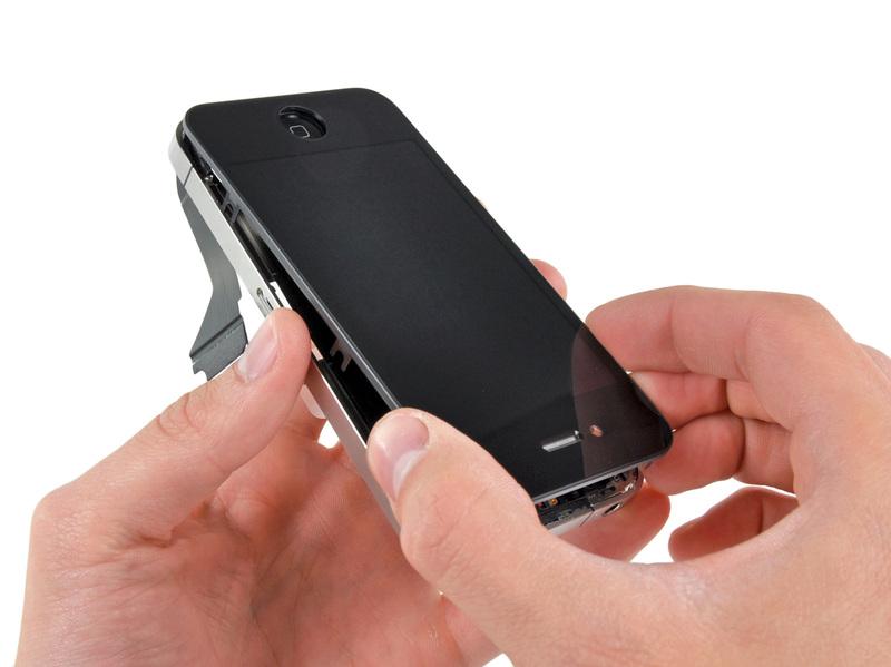 Как заменить сенсор на iphone 4