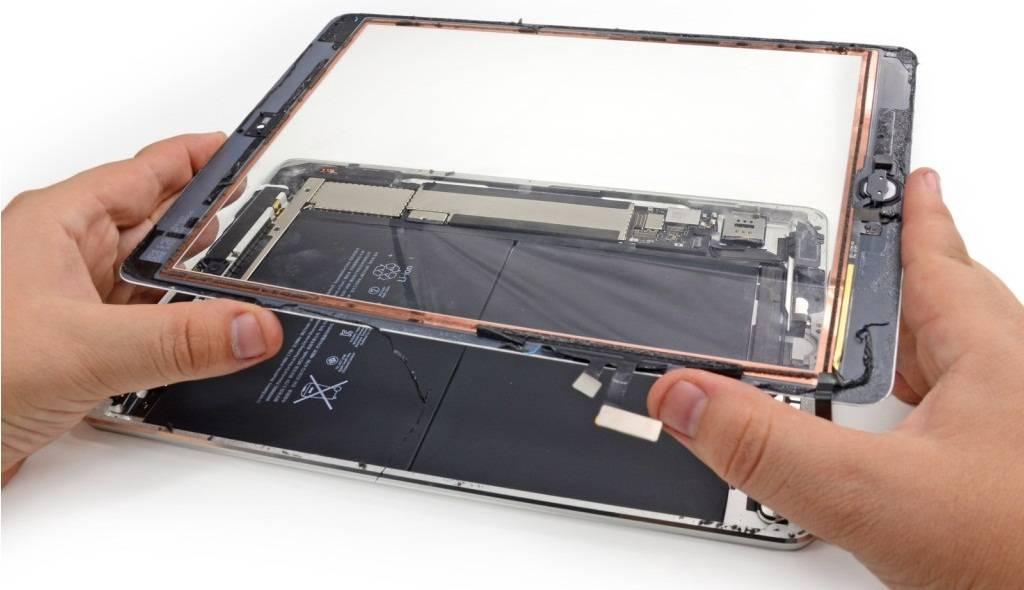 Замена сенсорного стекла планшета в Одессе