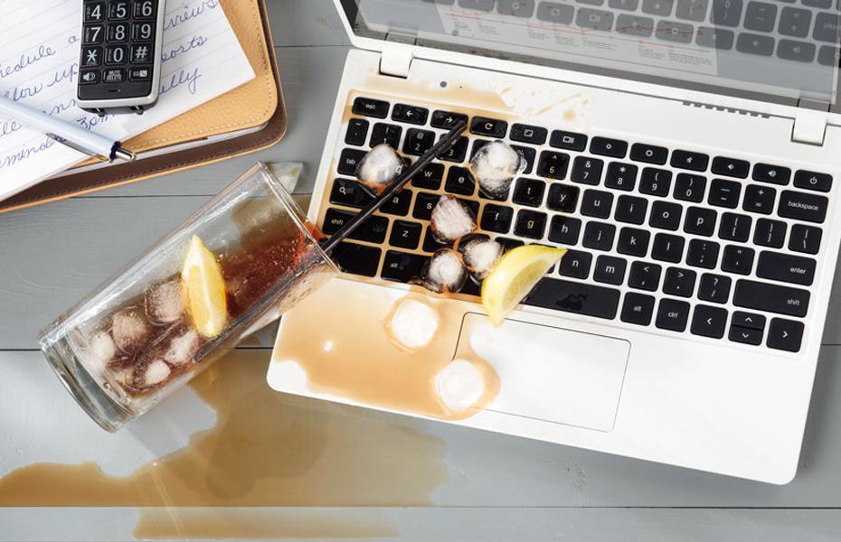 чистка ноутбука после попадания жидкости одесса