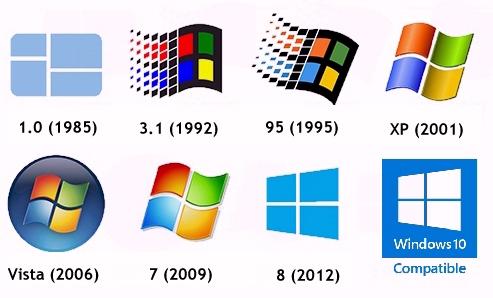 Установка Windows на ноутбук в Одессе, история Windows