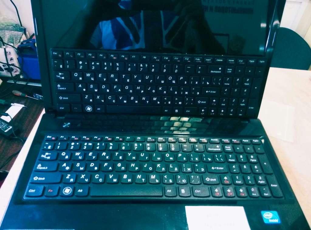 Установлена новая клавиатура