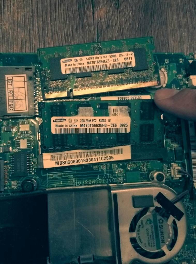 Модернизация ноутбука в Одессе