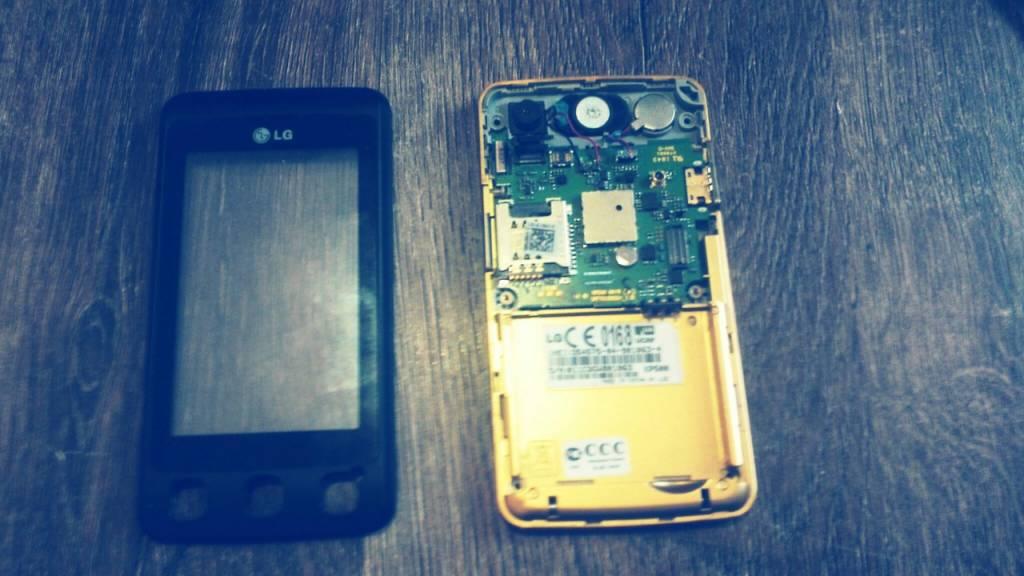 Замена тачскрина на телефоне LG