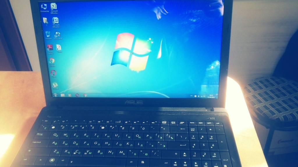 Замена клавиатуры на ноутбуке Asus x55 Одесса
