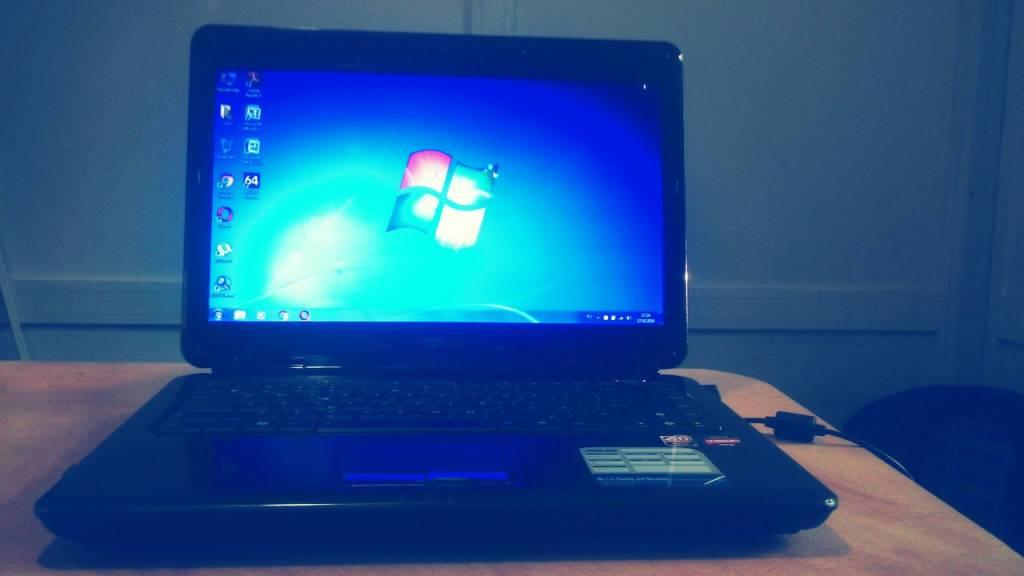 Ноутбук Asus K40 после модернизации