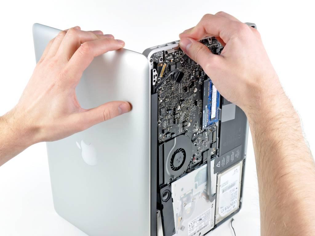 Замена матрицы на MacBook в Одессе